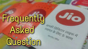 Reliance Jio 4g sim Frequently asked questions