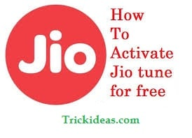 activate free caller tune in jio sim