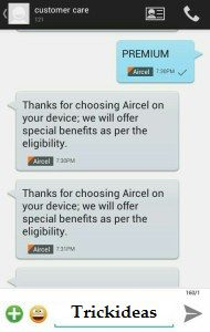 Aircel Free Internet Tricks