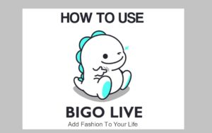 how to use bigo live app