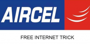 Aircel free internet trick