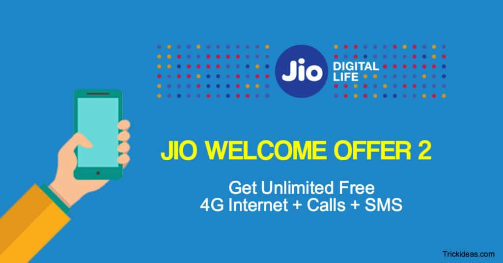 Reliance Jio Welcome Offer 2