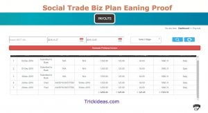 Social Trade payment Proof