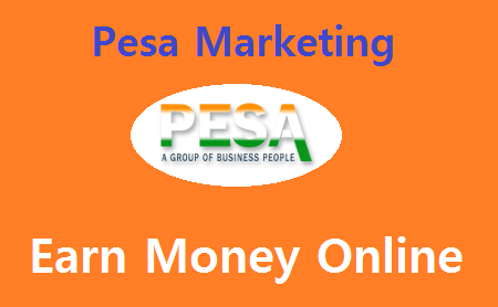 Pesa Marketing: Earn Money Online By Investing Rs.100 Only