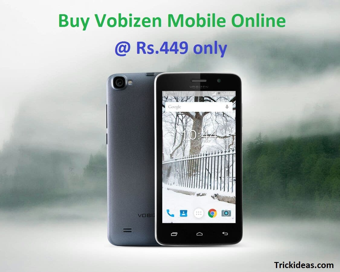 Vobizen Wise 5 Booking: Buy Vobizen Mobile Online at Rs 499 Now