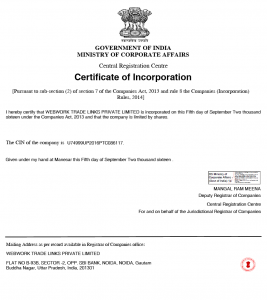 web work legal certificate