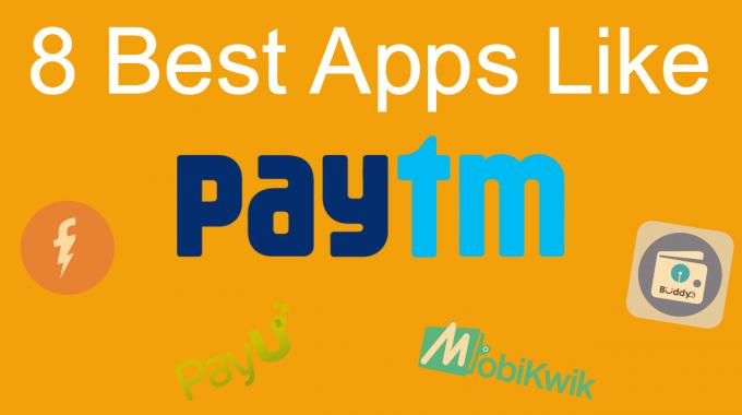 Apps Like Paytm App: Top 8 Alternatives of Paytm App