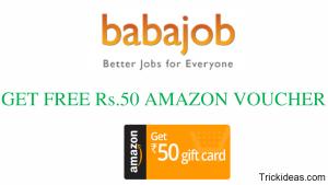BabaJob Amazon Loot