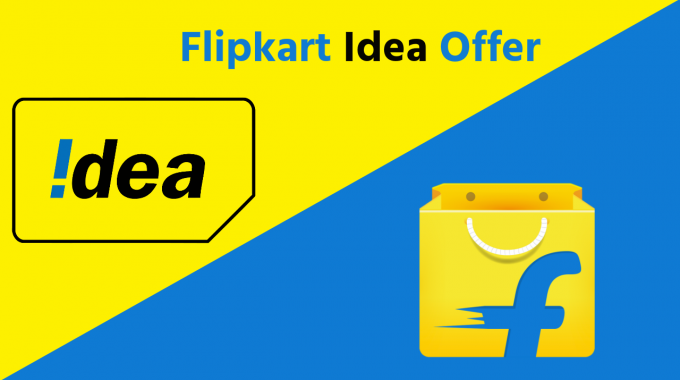 Flipkart Idea Offer: Buy SmartPhone & Get 15 GB Data at Price of 1 GB