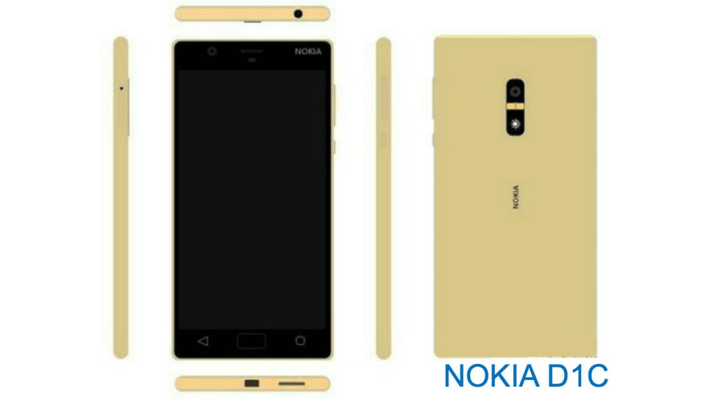 Nokia D1C Mobile 2017