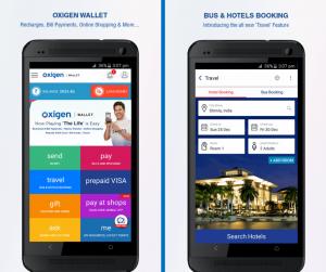 Oxigen Wallet App