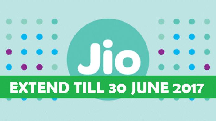 Jio Till June 2017