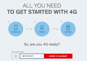 airtel 4g sim upgrade