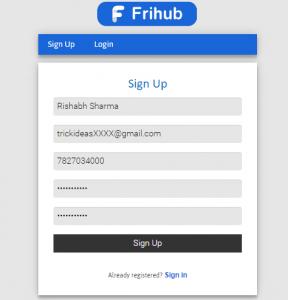 Frihub Social Trade
