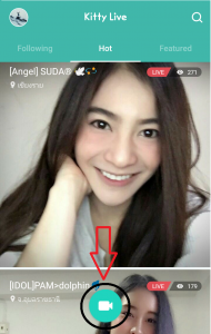 how to use kitty live app
