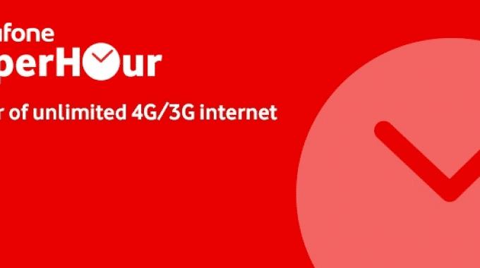 Vodafone Super Hour Recharge Plans | Unlimited 4G/3G Internet & Calling