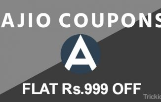 Ajio Coupons, Offers: April Special 1000 Off Coupon