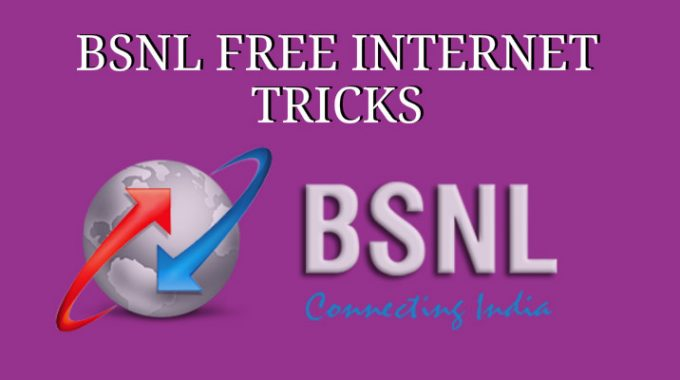 [New 5 Tricks] BSNL Free Internet Trick: 100% 3G Internet for 27 May