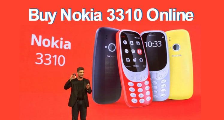 Buy Nokia 3310 Online