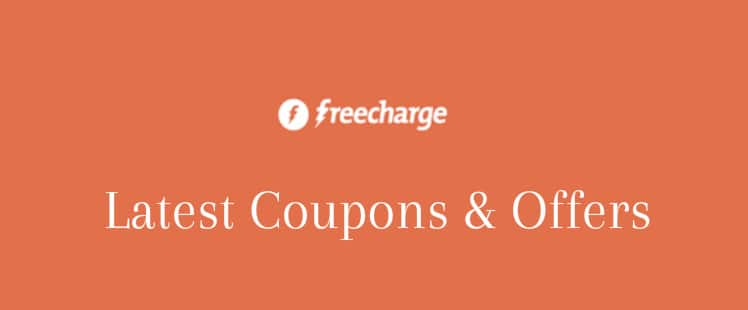 Freecharge promo codes