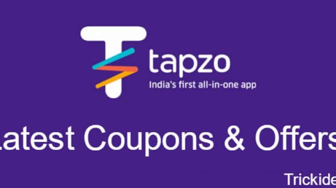 Tapzo Coupons, Offers: Get 50% Cashback Offers for May 2017