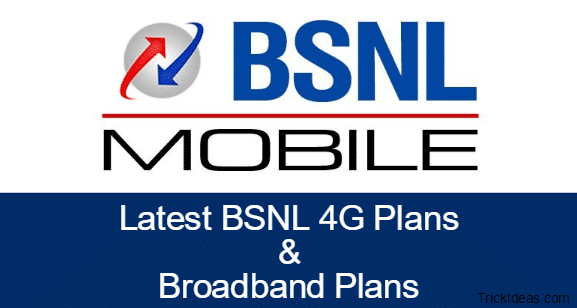 BSNL 4G Plans, Broadband Plans: Unlimited Free Internet, Calling
