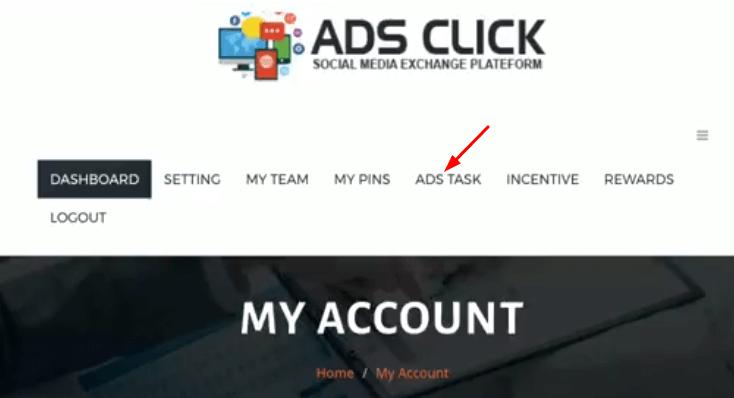 Adsclick daily task