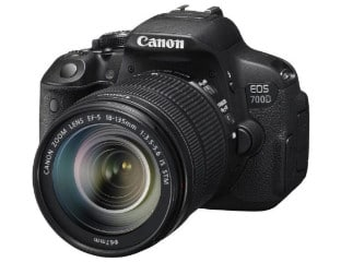 Canon 700d in india