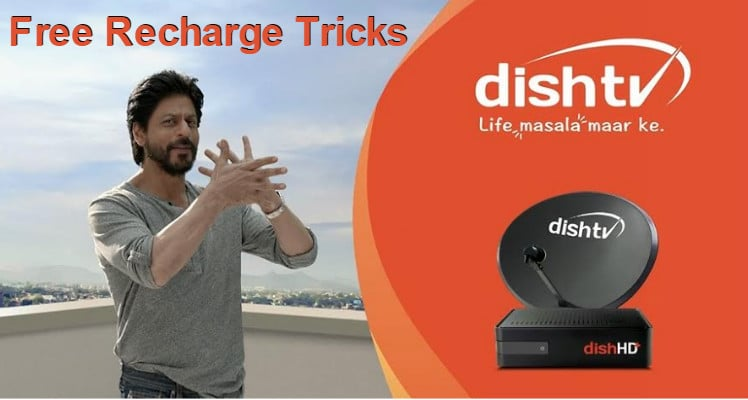 Dish TV Free Recharge Tricks
