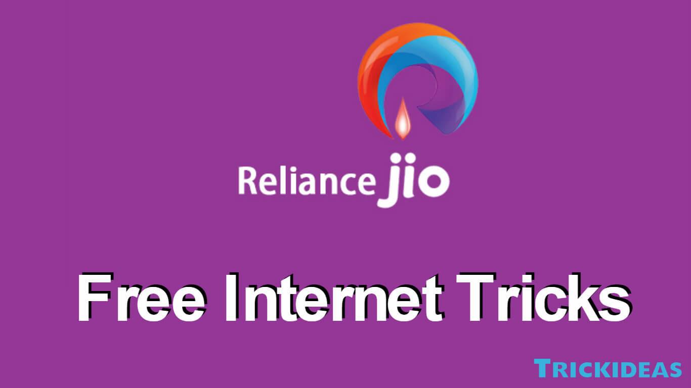 Jio Free Internet Trick