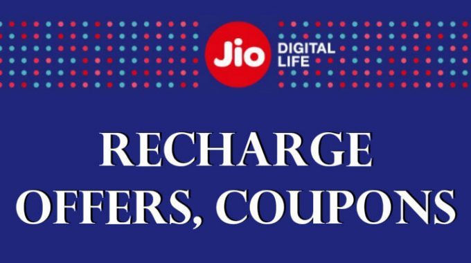 Jio Recharge Offers, Coupons: Get 50% Off on Jio Prime Membership