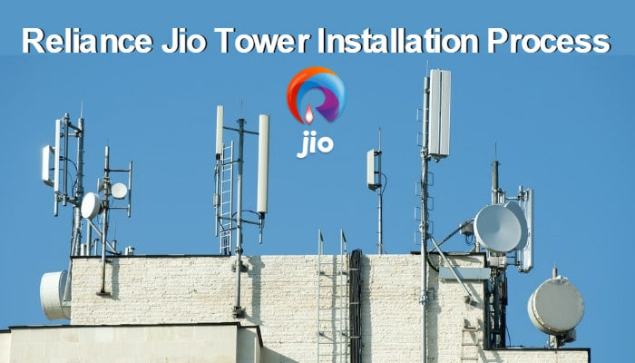 Reliance Jio Tower Installation