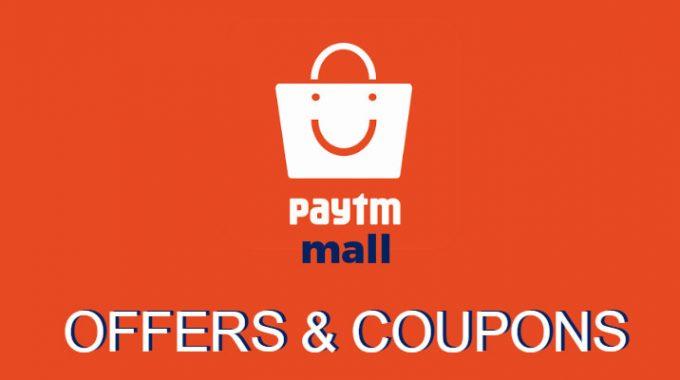 Paytm Mall Offers: Get upto 40% Cashback Offer for April 2017