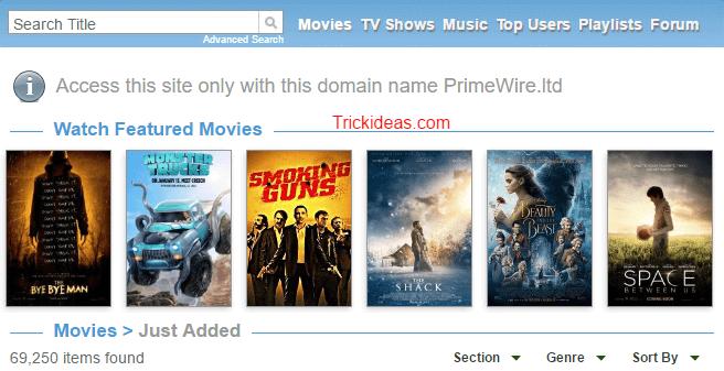 Primewire watch online
