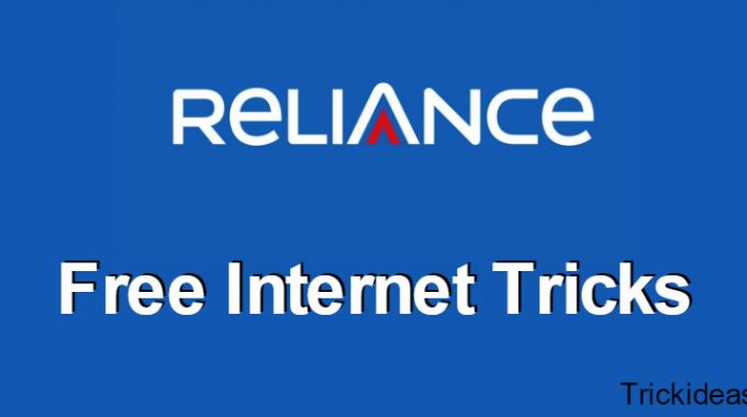 Reliance Free Internet Trick: Get 100% Free 3G Internet for May 2017