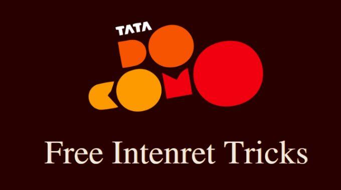 Tata Docomo Free Internet Trick 100% Working on May