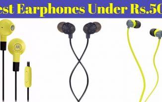 10 Best Earphones Under 500 in India: Latest Earphone added on 26 April