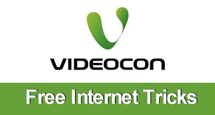 Videocon Free Internet Trick