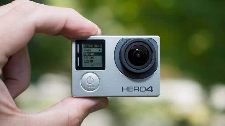 gopro hero4 black india