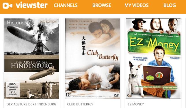 viewster online stream site