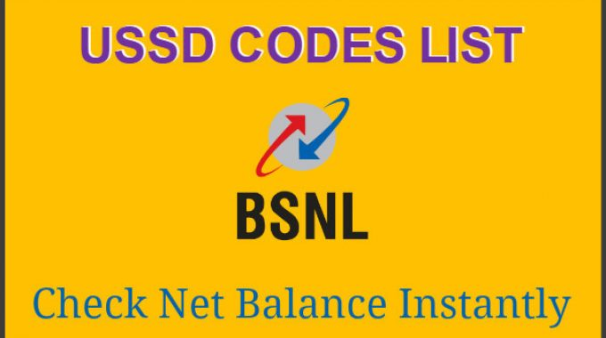 BSNL Balance Check: USSD Codes List to Net Balance | Latest May