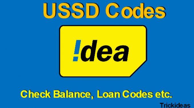 Idea Balance Check Number: Check Idea Net Balance and Idea Data Loan