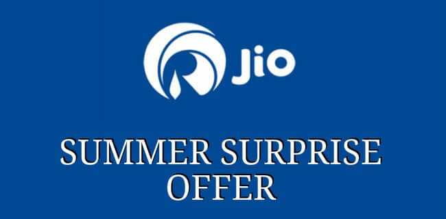 Jio Summer Offer