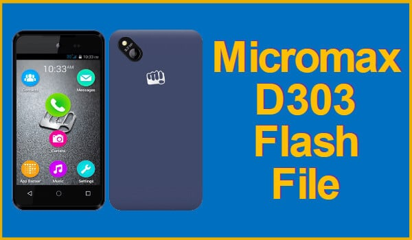 Micromax d303 Flash File
