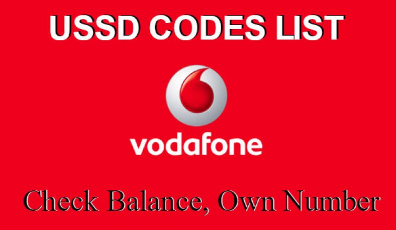 Vodafone Balance Check: 25 April USSD Codes To Check Own Number and More