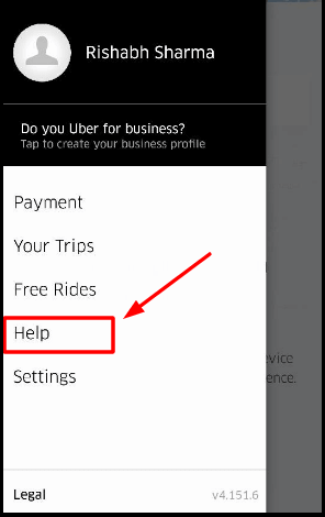Uber App Customer Care