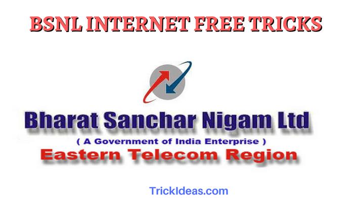 BSNL INTERNET FREE TRICKS