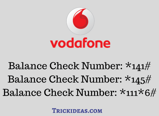Balance Check Number