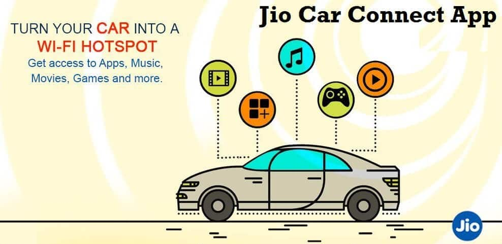 jio car connect App