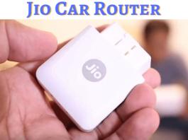 jio car router